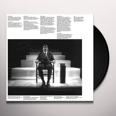 Alvin Lucier ILLUMINATED BY THE MOON Vinyl Record