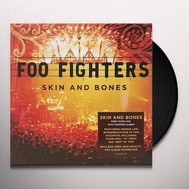 Foo Fighters SKIN & BONES (2LP/DL CARD) Vinyl Record