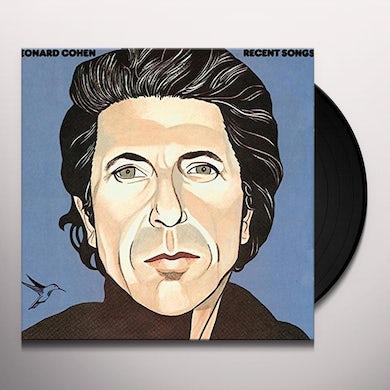 Leonard Cohen RECENT SONGS Vinyl Record