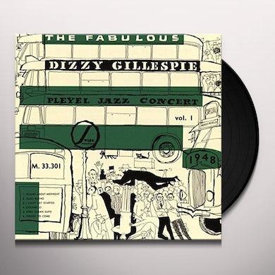 Dizzy Gillespie PLEYEL JAZZ CONCERT 1948 Vinyl Record