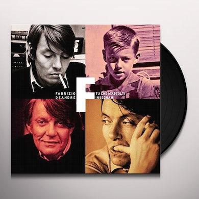 Fabrizio De Andre TU CHE M'ASCOLTI INSEGNAMI Vinyl Record