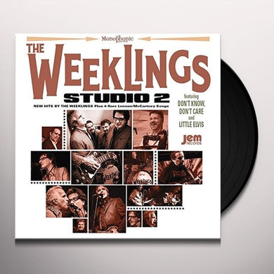 WEEKLINGS STUDIO 2 Vinyl Record