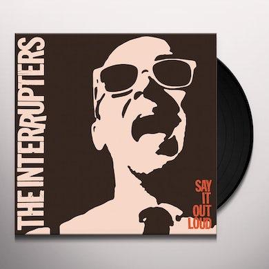 The Interrupters SAY IT OUT LOUD (COKE BOTTLE CLR) Vinyl Record