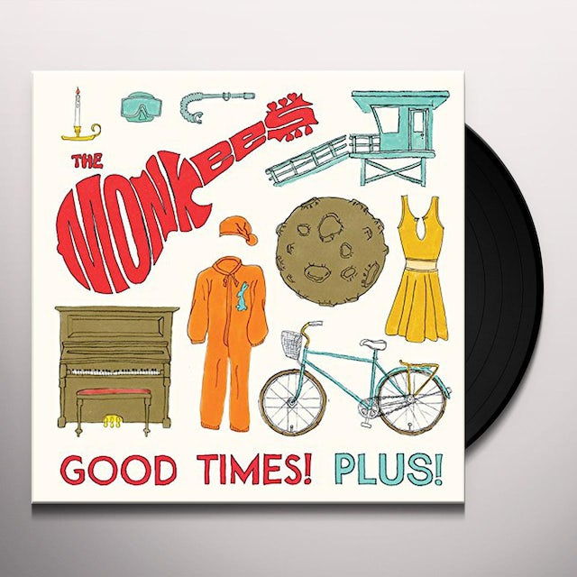 The Monkees GOOD TIMES PLUS Vinyl Record