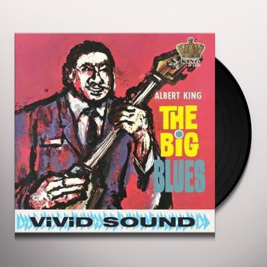 Albert King BIG BLUES Vinyl Record