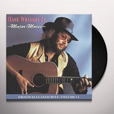 Hank Williams Jr. MAJOR MOVES Vinyl Record