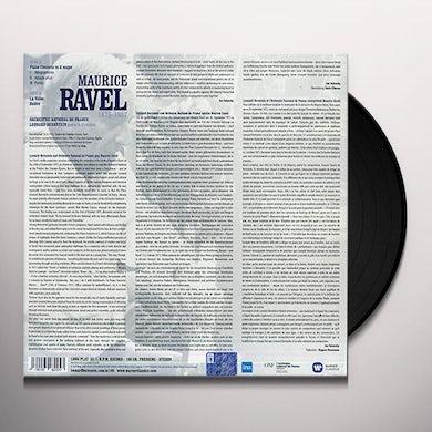 Ravel / Leonard Bernstein RAVEL: PIANO CONCERTO IN G / LA VALSE BOLERO Vinyl Record
