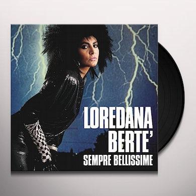 Loredana Berte SEMPRE BELLISSIME Vinyl Record