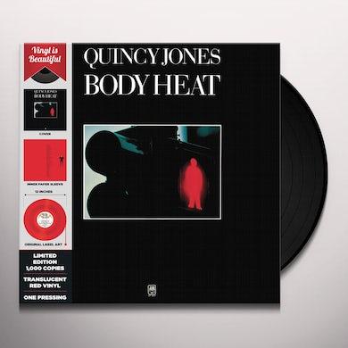 Quincy Jones BODY HEAT (RED TRANSLUCENT VINYL) Vinyl Record
