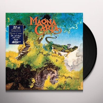 Magna Carta TOMORROW NEVER COMES Vinyl Record