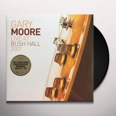 Gary Moore LIVE AT BUSH HALL 2007 Vinyl Record