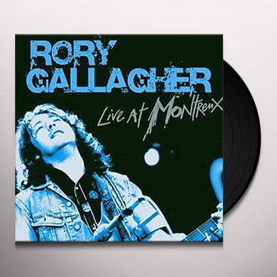 Rory Gallagher LIVE AT MONTREUX Vinyl Record