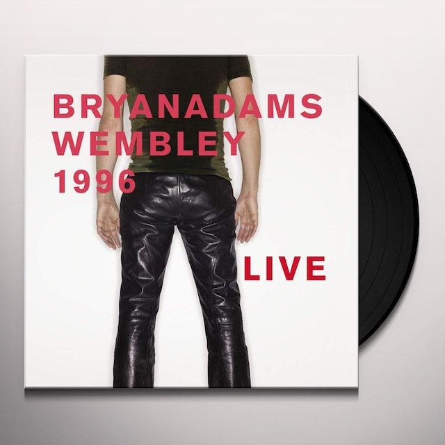 Bryan Adams WEMBLEY 1996 LIVE Vinyl Record