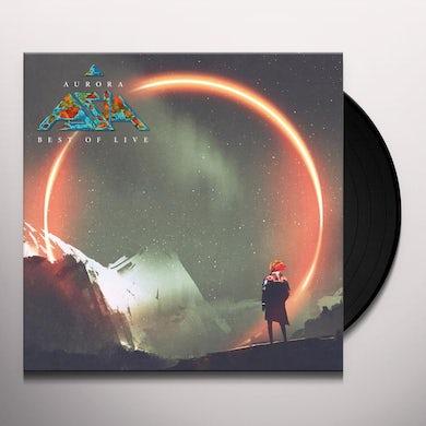 Asia AURORA: BEST OF LIVE Vinyl Record