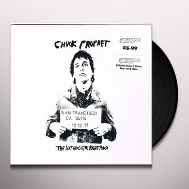 Chuck Prophet LEFT HAND & THE RIGHT HAND Vinyl Record