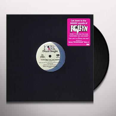 Pollyn MOODYMANN REMIXES 12 (PINK VINYL) Vinyl Record