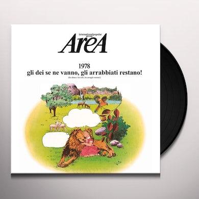 Area 1978 GLI DEI SE NE VANNO GLI ARRABBIATI RESTANO Vinyl Record