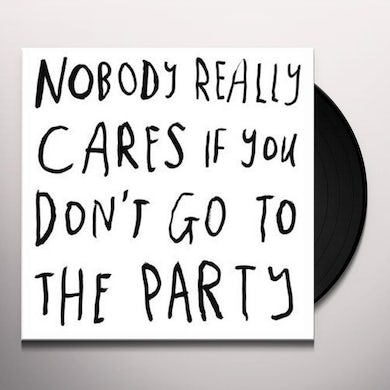 Courtney Barnett NOBODY REALLY CARES IF YOU DON'T GO TO THE PARTY Vinyl Record