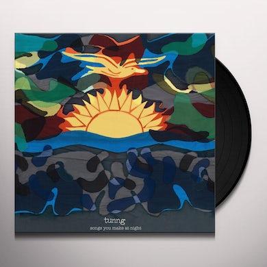 Tunng SONGS YOU MAKE AT NIGHT Vinyl Record