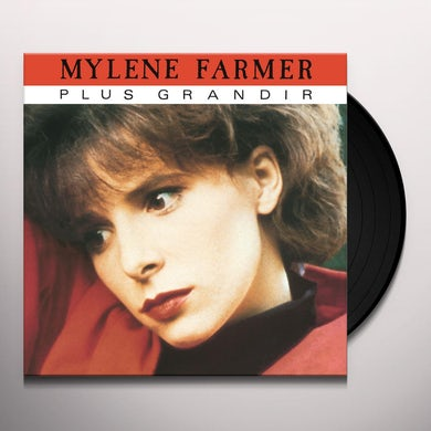 Mylène Farmer PLUS GRANDIR Vinyl Record