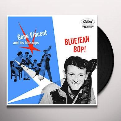 Gene Vincent & His Blue Caps BLUE JEAN BOP Vinyl Record