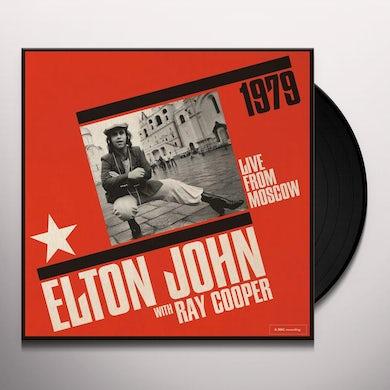 Elton John LIVE FROM MOSCOW Vinyl Record