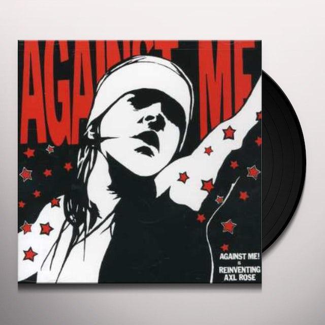 Against Me REINVENTING AXL ROSE Vinyl Record