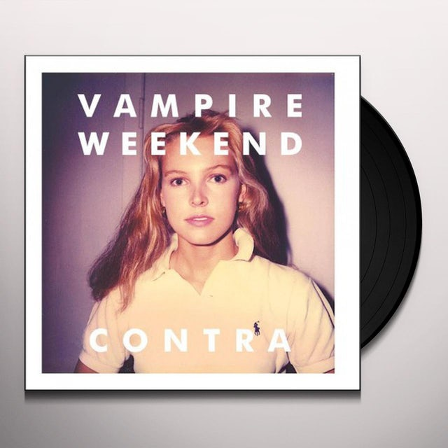 Vampire Weekend CONTRA Vinyl Record
