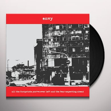 Envy ALL THE FOOTPRINTS YOU'VE EVER LEFT AND THE FEAR EXPECTING AHEAD Vinyl Record