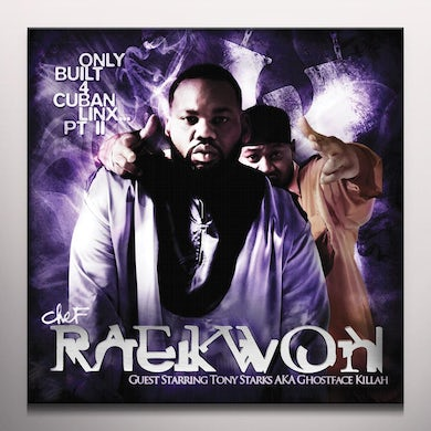 Raekwon ONLY BUILT FOR CUBAN LINX PART II (PURPLE VINYL) Vinyl Record