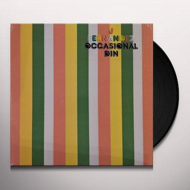 J Fernandez OCCASIONAL DIN (AMBER VINYL) Vinyl Record