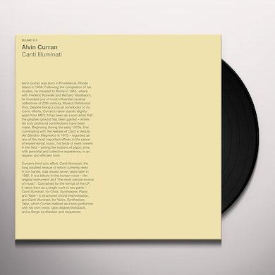 Alvin Curran CANTI ILLUMINATI Vinyl Record