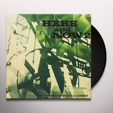 Lesiman HERE & NOW VOL. 2 Vinyl Record - Italy Release