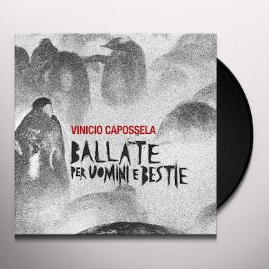 Vinicio Capossela BALLATE PER UOMINI E BESTIE Vinyl Record