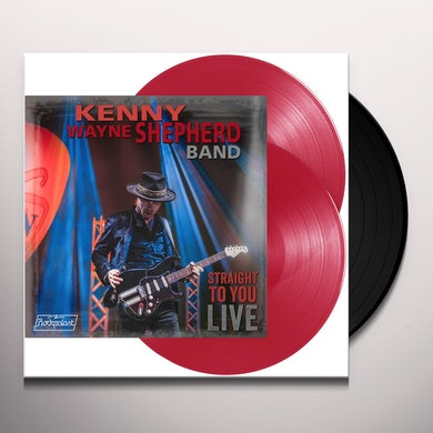 Kenny Wayne Shepherd STRAIGHT TO YOU: LIVE Vinyl Record