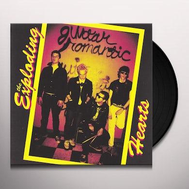 The Exploding Hearts GUITAR ROMANTIC Vinyl Record