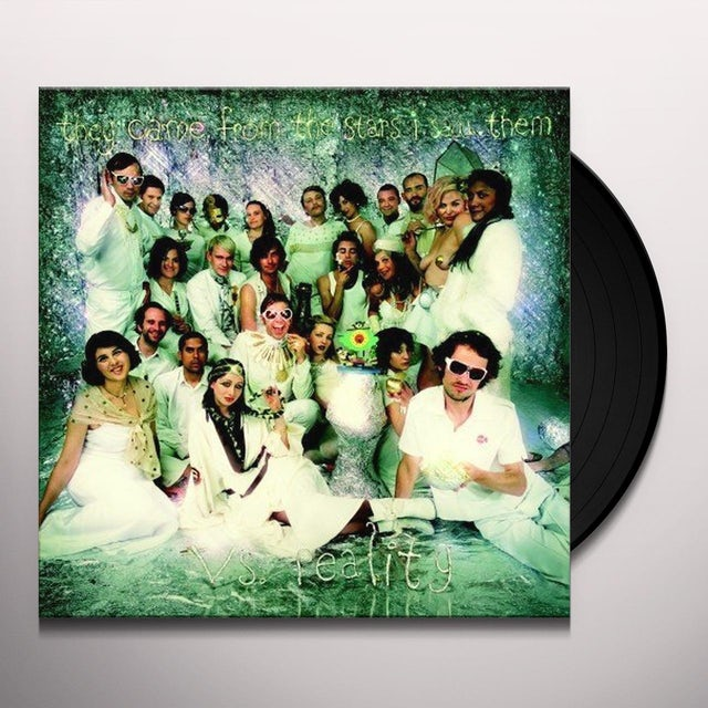 They Came From The Stars I Saw Them Vs. Reality Vinyl Record