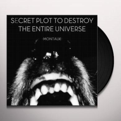 Secret Plot To Destroy The Entire Universe MONTAUK Vinyl Record