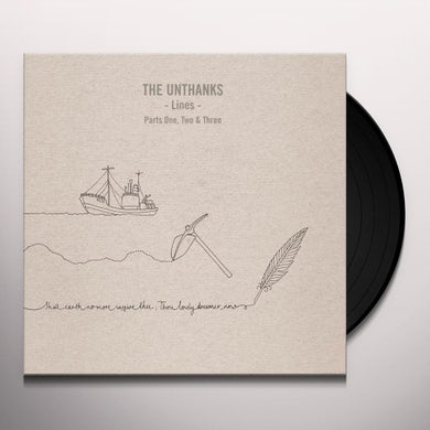 THE UNTHANKS LINES - PARTS ONE, TWO & THREE Vinyl Record
