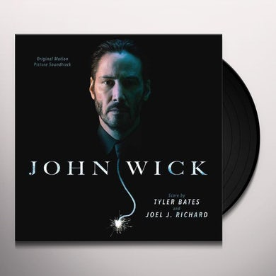Tyler Bates John Wick (Original Motion Picture Soundtrack) (2 LP) Vinyl Record