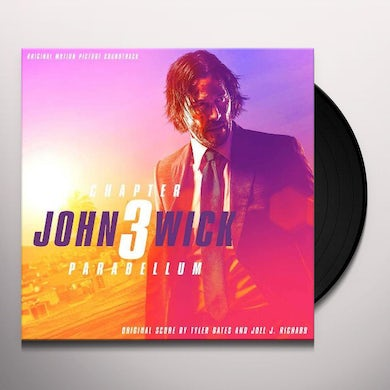 John Wick: Chapter 3 - Parabellum (Original Motion Picture Soundtrack) (2 LP) Vinyl Record