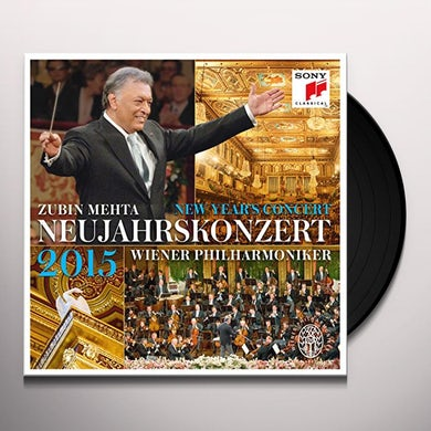 Zubin Mehta NEUJAHRSKONZERT / NEW YEAR'S CONCERT Vinyl Record