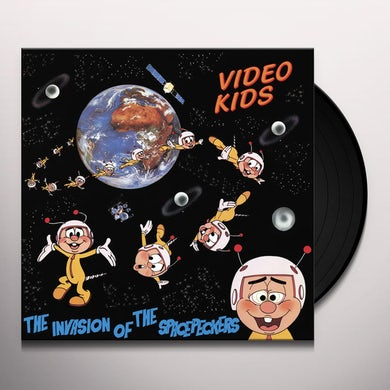 Video Kids INVASION OF THE SPACEPECKERS (30TH ANNIVERSARY) Vinyl Record