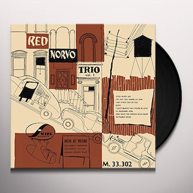 Red Trio Norvo MEN AT WORK Vinyl Record