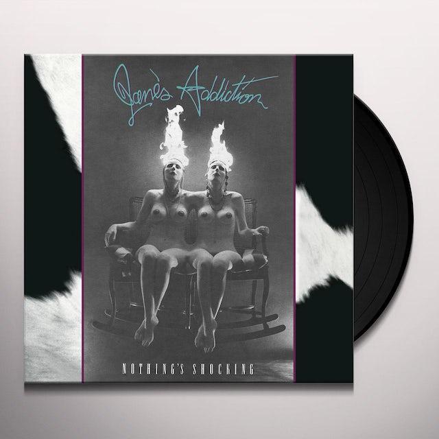 Jane's Addiction NOTHING'S SHOCKING (ROCKTOBER 2017 EXCLUSIVE) Vinyl Record