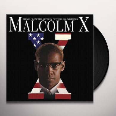 MALCOLM X / Original Soundtrack Vinyl Record