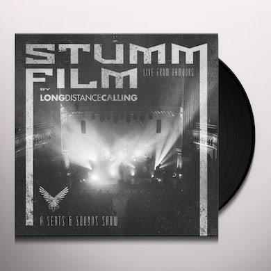 Long Distance Calling STUMMFILM: LIVE FROM HAMBURG Vinyl Record