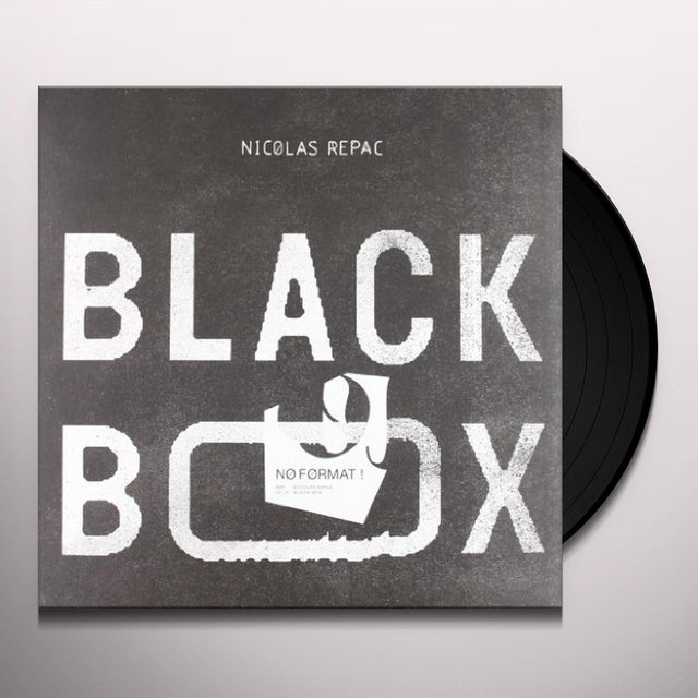 Nicolas Repac BLACK BOX Vinyl Record