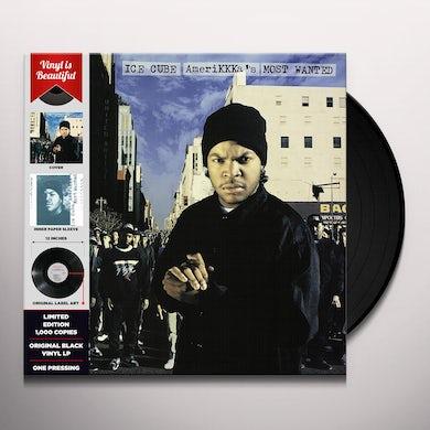 Ice Cube AMERIKKKA'S MOST WANTED Vinyl Record