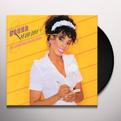 Donna Summer SHE WORKS HARD FOR THE MONEY Vinyl Record